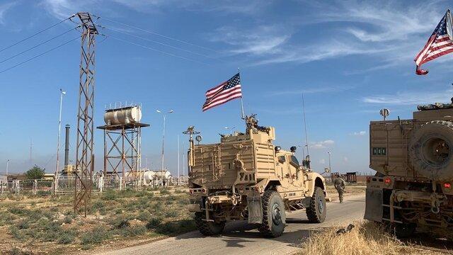 مزدوران ترکیه به کاروان نظامی آمریکایی در سوریه حمله کردند