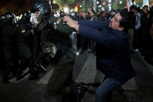 مخالفان مورالس ساختمان رسانه های دولتی را تصرف کردند