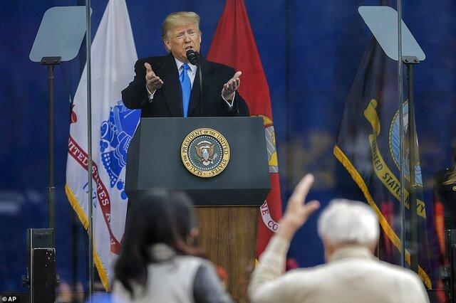 ترامپ: جانشین البغدادی در تیررس آمریکاست