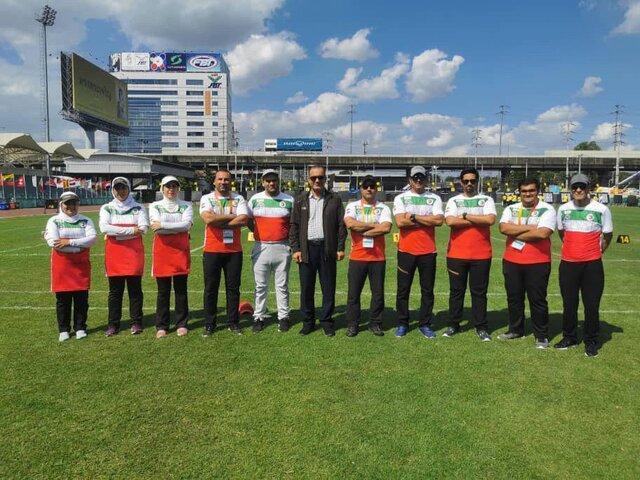 صندلی پنجم تیم کامپوند مردان در مرحله مقدماتی قهرمانی آسیا