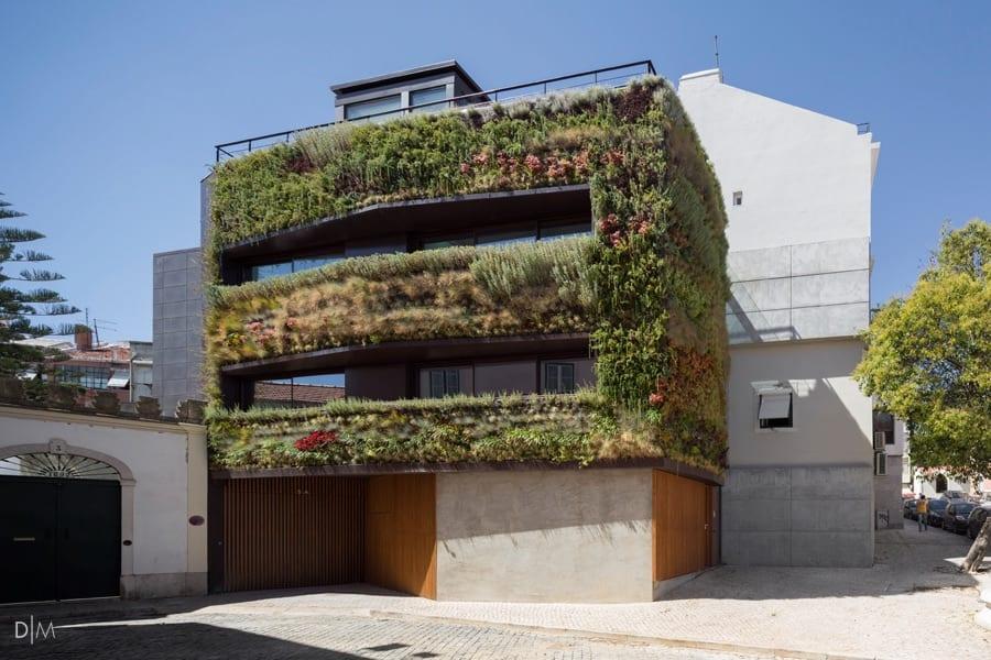 خانه ای پایدار و پوشیده شده از گیاهان