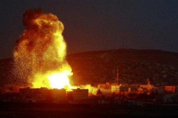انفجار در میدان اموی دمشق