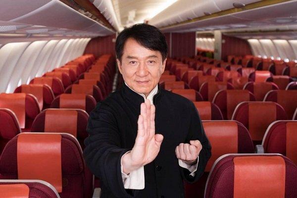 جکی جان سفیر خطوط هوایی هنگ کنگ شد