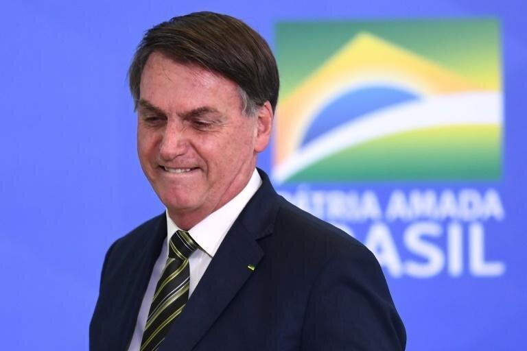 دهن کجی ترامپ برزیل به کرونا، عکس
