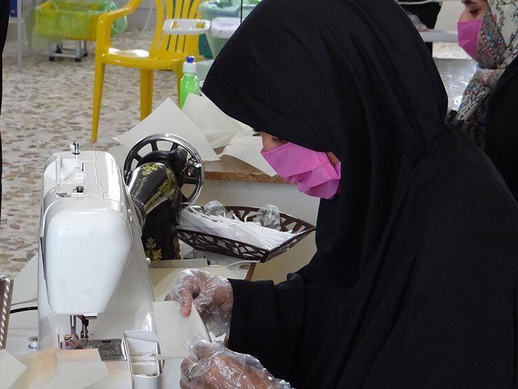 خبرنگاران یک میلیون و 710 هزار ماسک در استان بوشهر فراوری شد