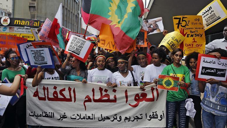 بحران اقتصادی لبنان و کارگران خارجی که هیچ حقی ندارند