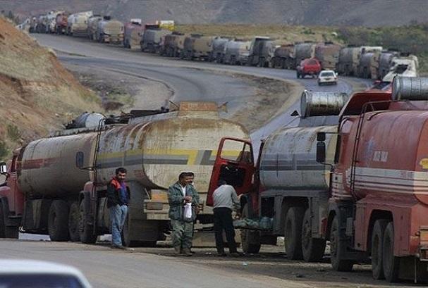 سانا: آمریکا 35 تانکر حامل سوخت را به عراق قاچاق کرد