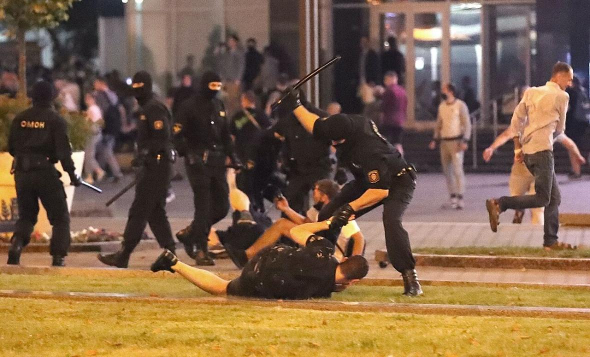 خبرنگاران 213 نفر در بلاروس دستگیر شدند