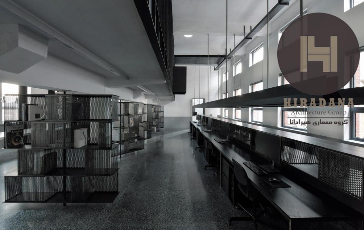 طراحی و بازسازی داخلی استودیو ام اچ چین