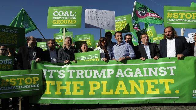 بایدن: در صورت پیروزی، به پیمان اقلیمی پاریس برمی گردیم