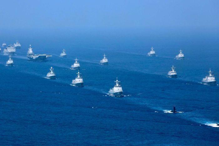تمام بازیگران دریای جنوبی چین ، جهان در آستانه جنگ سرد جدیدی است؟