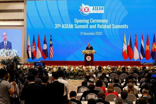 شروع نشست سران جنوب شرق آسیا