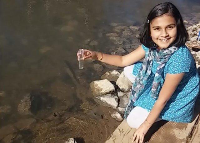 تشخیص فوری سرب در آب به یاری اختراع دانشمند 11 ساله!