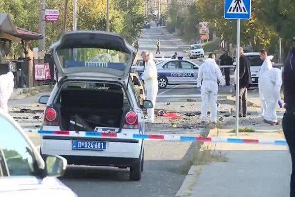 انفجار در بلگراد یک کشته و دو زخمی برجا گذاشت