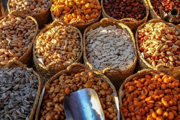 قیمت آجیل و خشکبار در میادین میوه و تره بار چند؟