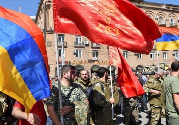 حکومت نظامی در ارمنستان لغو شد