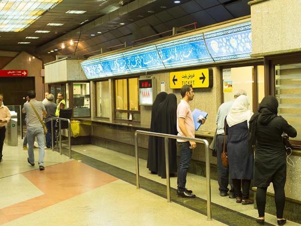 بلیت مترو تهران از اول اردیبهشت 25 درصد گران می گردد