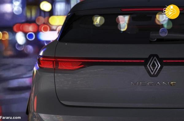 (تصاویر) رنو مگان جدید با ظاهری نامتعارف؛ تصاویر مگان E-Tech Electric منتشر شد
