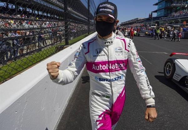 قهرمانی راننده برزیلی در ایندی کار 500