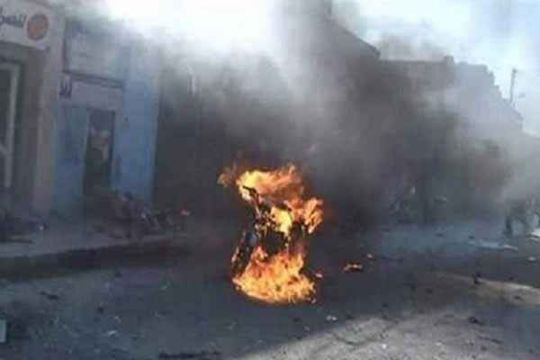 انفجار موتور سیکلت بمبگذاری شده در شمال سوریه