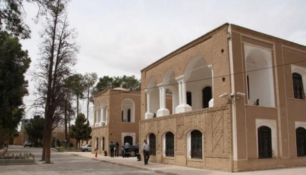 عملیات مرمتی باغ موزه هرندی کرمان شروع شد