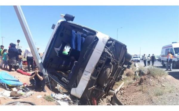 جزئیاتی از حادثه مرگبار اتوبوس حامل سربازان