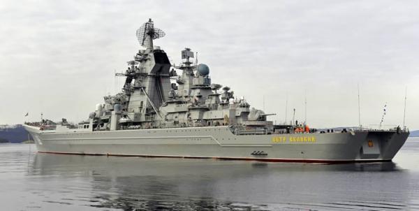 رزمایش دریایی روسیه با حضور رزمناو هسته ای