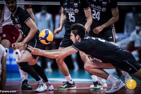 ساعت بازی والیبال ایران - آرژانتین