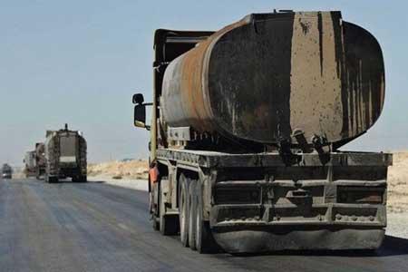تداوم سرقت منابع نفتی سوریه به وسیله اشغالگران آمریکایی