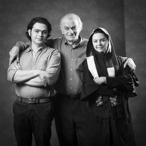 تصاویر، فتحعلی اویسی به همراه دختر و پسرش
